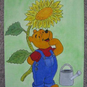 Winnie zonnebloem